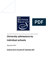 Strust Uni Selection From Schools
