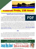 RIBEIRÃO PRETO, 156 ANOS!