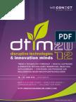 Disruptive Technologies & Innovation Minds 2012_agenda