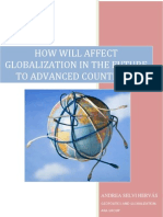 Expected Effects of Globalization in a Medium
