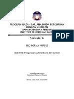 Proforma SCE3112