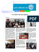 Journal Cilec Mai-Juin 2012