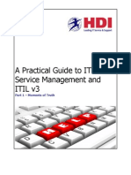 A Practical Guide to ITSM and ITIL 3 (Part 1) - Moments of Truth