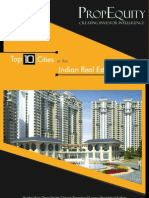 Top 10 Cities in the Indian Real Estate Market