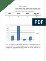 Survey Analysis 1
