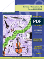 Conservatorio Revist Anuario 2011