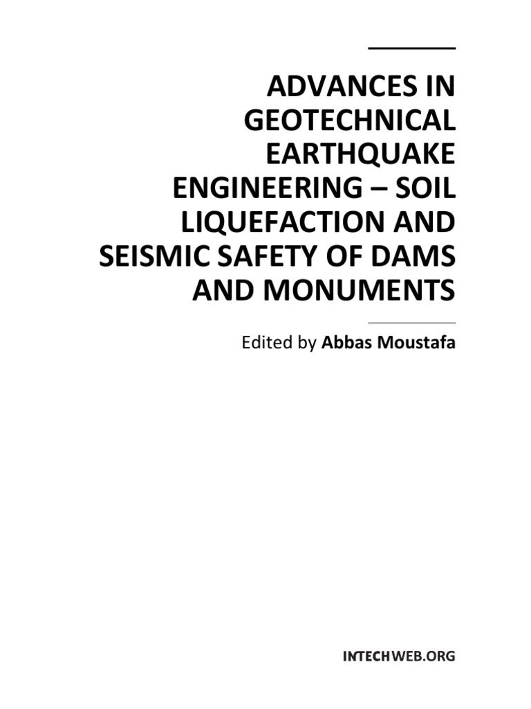 Advances In Geotechnical Earthquake Engineering Soil Liquefaction 1911 Assembly Diagram Http Forums1911forumcom Showthreadphpt And Seismic Safety Of Dams Monuments Earthquakes Tsunami