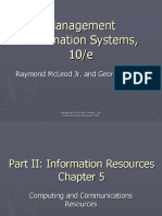 Chapter 5 Management Information Systems