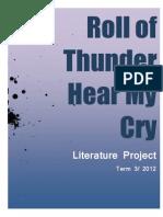 Roll of Thunder Hear My Cry- Lit Summary