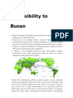 Accessibility Busan