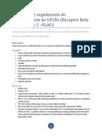 Protocolo de segumiento de internalización de GPCRs
