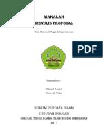 Sampul Makalah Bahasa Indonesia