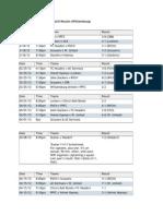 wsp spring 2012 schedule june 19
