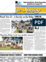 Ridge Spring Monthly - June 2012