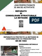 Sika Romania - Reparatii Si Consolidari La Betoane