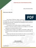 OFÍCIO CIRCULAR Nº 44.2012