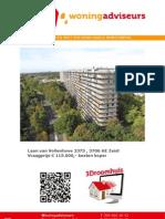Brochure Laan Van Vollenhove 2 kamerappartement Te Zeist