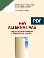 Vicente Navarro-livro- Hay Alternativas