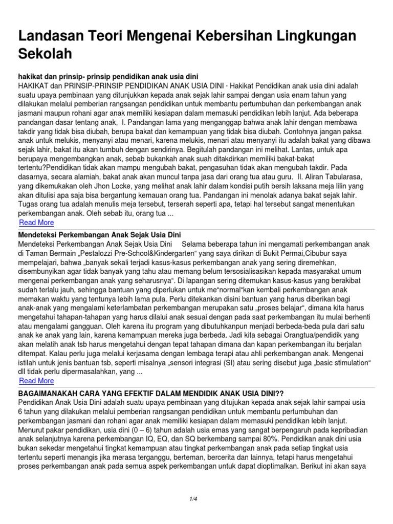 Contoh Proposal Penelitian Tentang Kebersihan Lingkungan Sekolah Ilmusosial Id