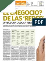 Entrevista El Economista El negocio de las redes ofrece una dudosa rentabilidad