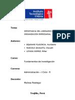 Monografia Liderazgo Empresarial