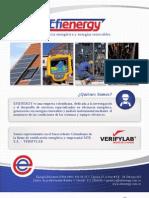 Energía eficiente LTDA - Efienergy - Portafolio de servicios