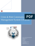 CRCM saas Crisis & Risk Communication Management