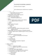 clasificación de sist y apar.humanos
