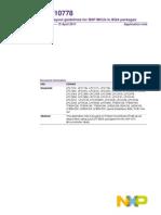 Guidline BGA Package