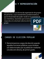 Democracia y representación  política