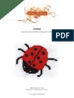 Free cross stitch pattern - Ladybug
