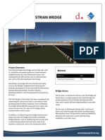 Parkside Pedestrian Bridge Fact Sheet