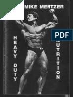 Mike Mentzer - Bodybuilding - Heavy Duty Nutrition - Complete