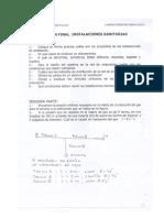 Examenes de Instalaciones Sanitarias - Ricardo Palma