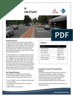 M Street SE SW Transportation Study Fact Sheet