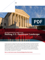 Key Findings Shifting Us Healthcare Landscape