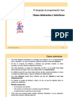 Java Abstract Class Interface