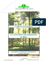 Guide de sylviculture du Hêtre (La Hêtraie nord-atlantique)