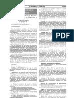 """DECRETO SUPREMO Nº 007-2007-TR, del 06 de Abril del 2007 """"Modifican Artículos del D.S. Nº 009-2005-TR, Reglamento de Seguridad y S"""
