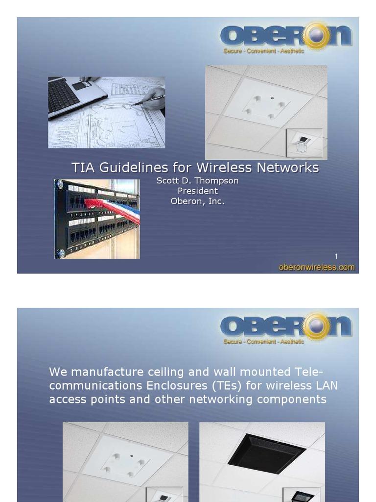 Tia Wireless Data Transmission Telecommunications Oberon Wire Diagram