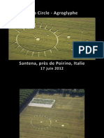 Crop Circle (Agroglyphe) - Santena, prés de Poirino, Italie - 17 juin 2012