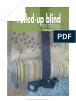 Rolled-Up Blind Tutorial