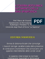 Disfonia Spasmodica