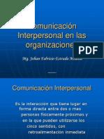 Cominicacion Interpersonal en Las Organizaciones