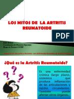 MITOS ARTRITIS REUMATOIDE