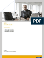 SAP Solution Manager EhP1 Security Guide