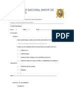 Universidad Nacional Mayor de San Marcos-Encuesta