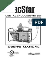 VacStar OP Manual 55151 RevJ