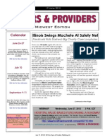 Payers & Providers Midwest Edition – Issue of June 19, 2012