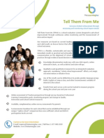 Tell Them From Me Student Survey Overview